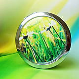 Zrkadielka - v létě na louce - text na přání - 5952961_