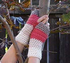 Rukavice - Najvyrukavičkovanejšie rukavice z mliečnej čokolády - 5956628_