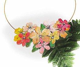 Náhrdelníky - slnečné flowers 2 - 5959775_