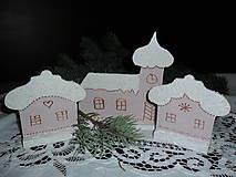 Zasnežená dedinka