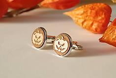 Šperky - Manžetové gombíky Halloween - 5959763_