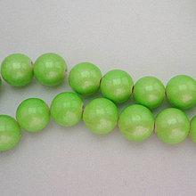 Minerály - Prír.kameň 10mm-1ks (sv.zelená) - 5957880_