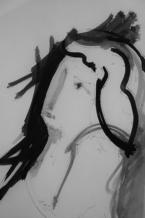 Untitled Zena Z Profilu Jelloudesign Sashe Sk Handmade Kresby