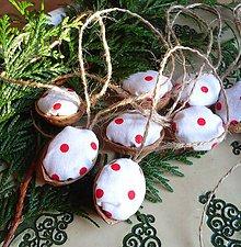 Dekorácie - Vianočné oriešky - 5958720_