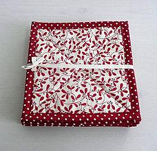 Úžitkový textil - Scandi - vianočné podšálky - 5958680_
