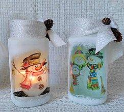 Nádoby - zimná dekorácia - 5960145_