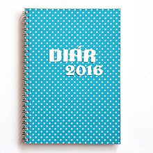 Papiernictvo - Diár s úlohami k jednotlivým dňom 2016 - 5960692_