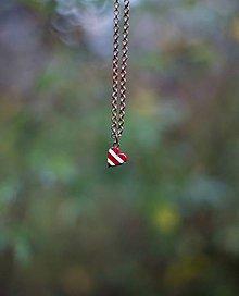 Náhrdelníky - ♥ námornícke červené - 5960022_