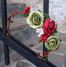 Ozdoby do vlasov - Vôňa ruží ll - 5959529_