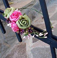 Ozdoby do vlasov - Vôňa ruží - 5959838_