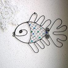 Dekorácie - ryba do modra - 5962128_