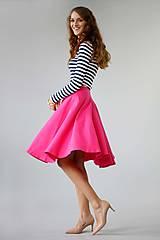 - Kruhová sukňa ...jednofarebná - 5964792_