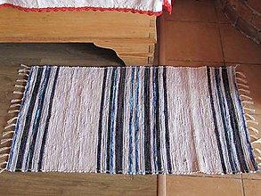 Úžitkový textil - koberček tkaný cca 70x110 klasický - 5963039_