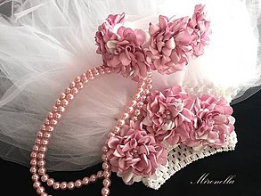 a64b41216c19 Detské oblečenie - romantické zasnenie - tylové šaty s čelenkou - 5964442