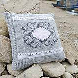 Úžitkový textil - shabby vankúš - 5966943_