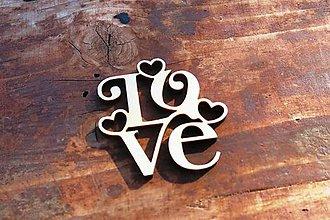 Polotovary - V-01-011 Love - 5966960_