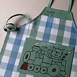 Detské oblečenie - LOKOTKA - dětská zástěrka - 5964295_