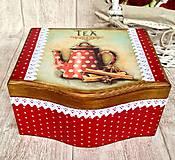 Krabičky - Čajovka čajník - 5962242_