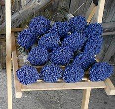 Dekorácie - Levanduľové kytičky, priemer 9 cm - 5963400_