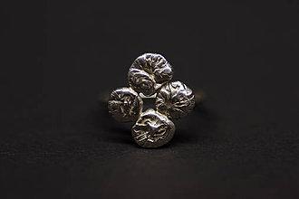 Prstene - DOMINO - prsteň štvorka - 5965372_