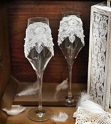 Nádoby - Svadobné poháre Great Gatsby II - 5966865_