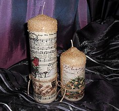 Svietidlá a sviečky - vianočné duo II. - 5962152_