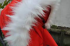 Kožušinka na striešku kočíka na mieru (biela)