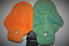 Textil - Podložka do jedálenskej sedačky podľa originálu - 5968935_
