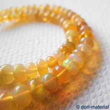 Minerály - opál, 4 x 2 mm - 5969326_