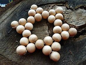 Dekorácie - Hviezdička drevenná 1 - 5969028_