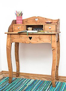 Nábytok - Písací stolík Eliška - 5971170_