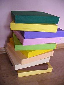 Krabičky - štvorcová na Vaše želanie... - 5968960_