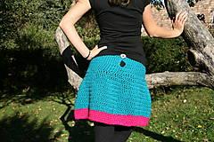 Sukne - Háčkovaná sukňa Loriána - 5968359_