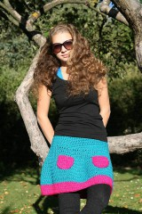 Sukne - Háčkovaná sukňa Loriána - 5968360_
