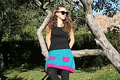 Sukne - Háčkovaná sukňa Loriána - 5968361_