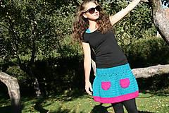 Sukne - Háčkovaná sukňa Loriána - 5968362_