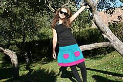 Sukne - Háčkovaná sukňa Loriána - 5968363_