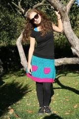 Sukne - Háčkovaná sukňa Loriána - 5968364_