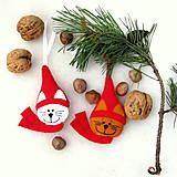 - vianočné kocúriky - na stromček - 5969698_