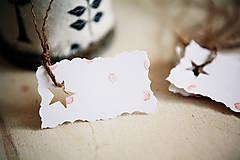 Papiernictvo - Visačky na darčeky *13 - 5975027_
