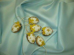 Dekorácie - Žlté vianoce - 5972880_