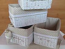 Košíky - Kapučínka - 5973775_
