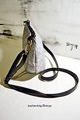 Kabelky - Ani veľká ani malá ľudová kabelka - 5976027_