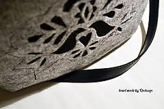 Kabelky - Ani veľká ani malá ľudová kabelka - 5976030_
