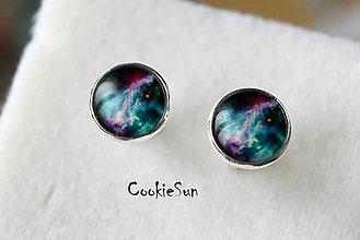 Šperky - Manžetové gombíky Hmlovina Carmina - 5974332_