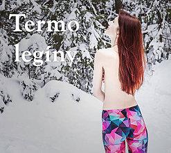 Nohavice - Termo legíny všetkých vzorov!!! - 5973665_