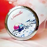 Zrkadielka - zrkadielko Ladybird in red - text na želanie - 5973052_