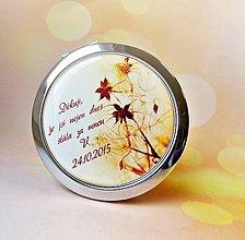 Darčeky pre svadobčanov - svadobné zrkadielko Jarné precitanie - 5971280_