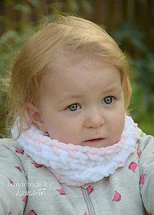 Detské doplnky - Nákrčník na zimu ...