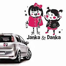 Detské doplnky - Dievčatá v aute - 5979377_